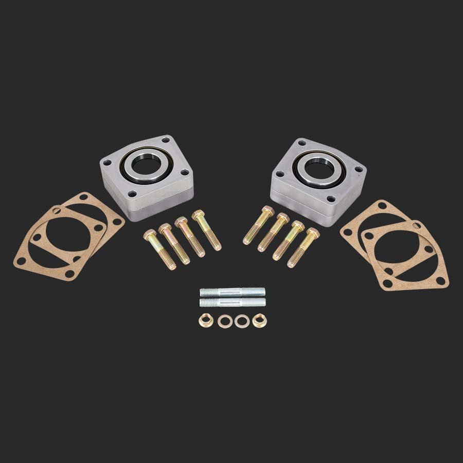 Strange 12 bolt c-clip eliminator kit for oem style c-clip axles.