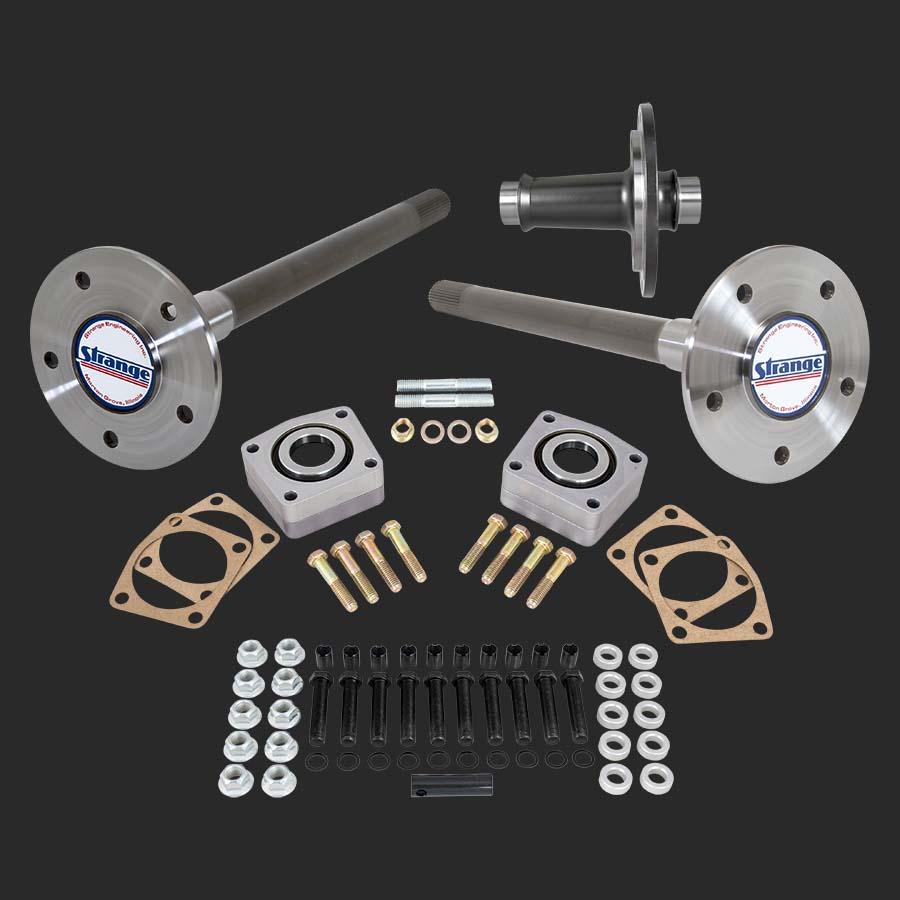 Pro race axle spool package for gm 10 bolt 12 bolt rear ends race axles lightweight spool c clip eliminator kit 5 8 stud kit