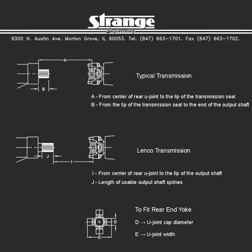 Web Driveshaft Diagram