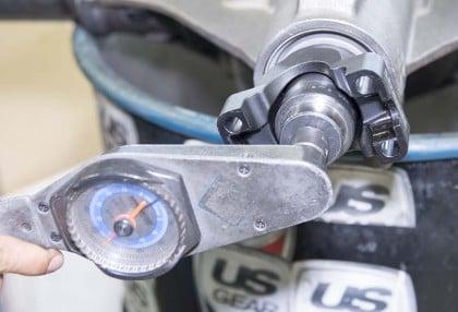 Strange dana 60 torque specs