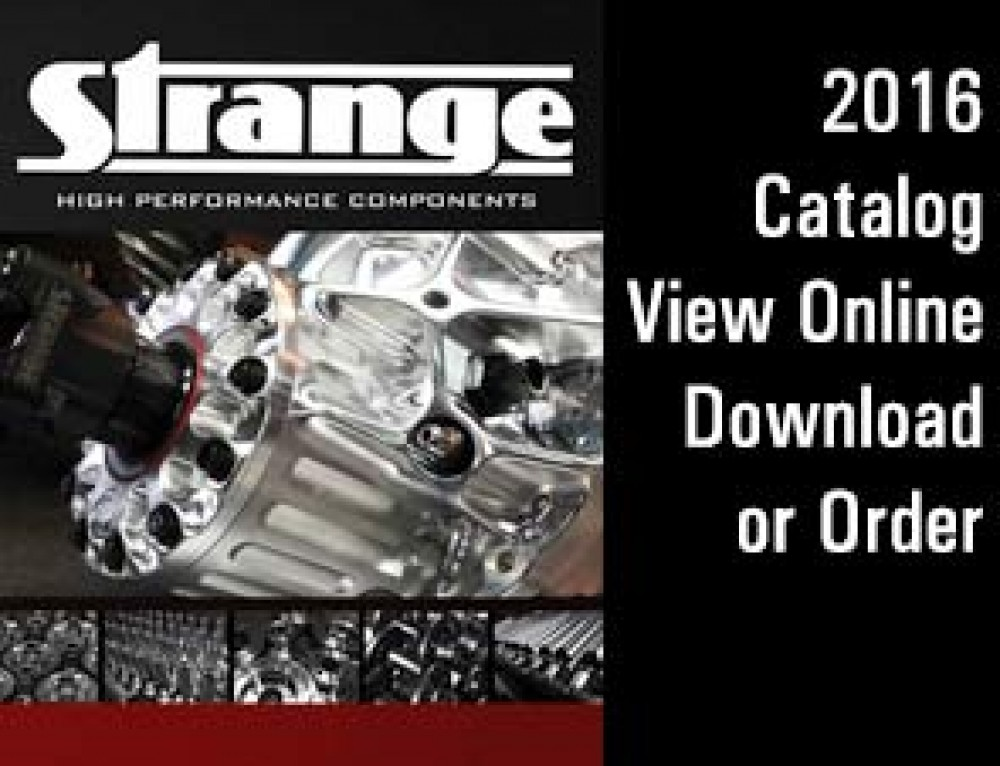 Strange 2016 Drag Racing Parts Catalog is Here