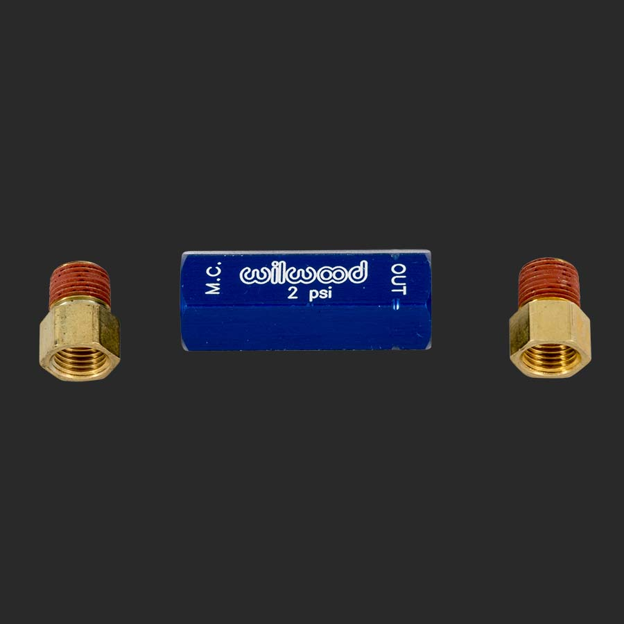 External Residual Pressure Valve - 2 Lb