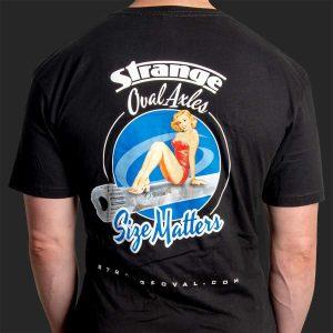 T-Shirt Strange Oval - Size Matters
