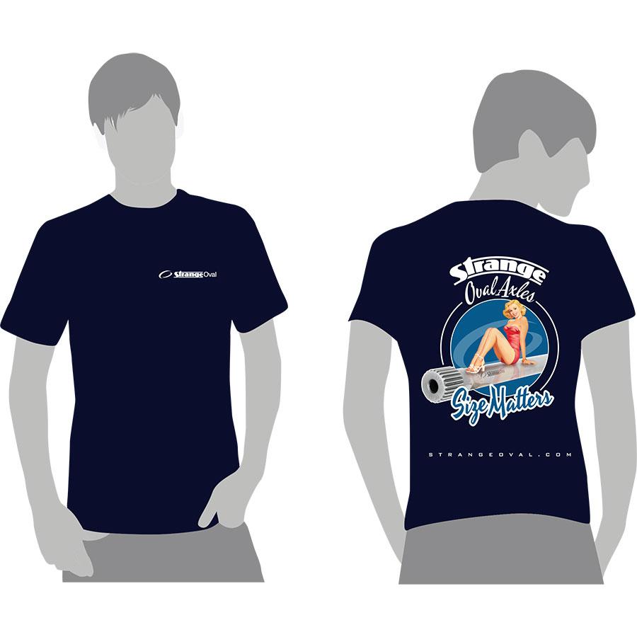 strange oval t-shirt