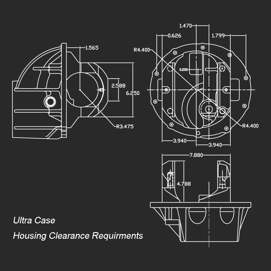 Ultra Case Hsg Clearance