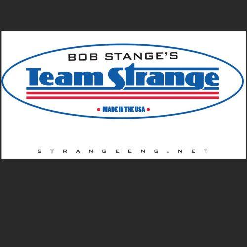 team strange logo mockup