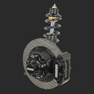 "Strange Mono Tube Ultra Strut Package | Double Adjustable | 11"" Four Piston Carbon Brake Kit-PSS225M"